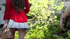 BlackValleyGirls- Hot Teenage Julie Kay Steals and Fucks Boyfriend